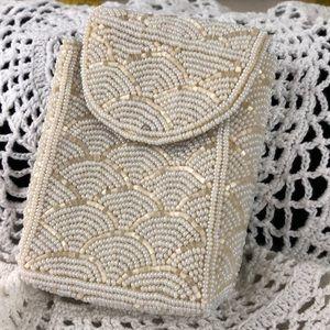Small vintage beaded vintage bag
